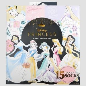 Disney Princess 15 Days of Socks
